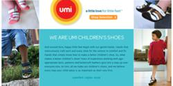 SHOEBACCA.com is happy to partner with UMI Kids' shoes & the Laurie Berkner Band