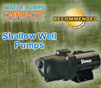 Top Shallow Well Pumps @ Water Pumps Direct