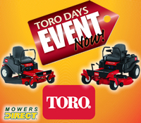 toro days, mowers direct, mowersdirect, mowers direct toro days, toro days sale, toro days promotion
