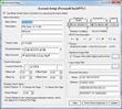 Check setup screen of ezCheckPersonal software