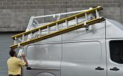 Adrian Steel Drop Down Ladder Rack for Nissan NV Van