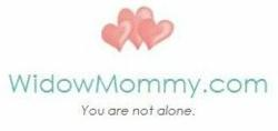 WidowMommy.com logo from website and Facebook community launched by Kristen K. Brown