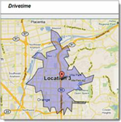 Drivetime Geo-Mapping