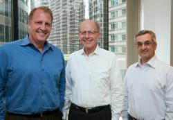 Dale Vanderlaan, Realogic President; Harold 'Skip' Perry, Real Globe Advisors, Managing Director; Sal Caldarone, Realogic CEO