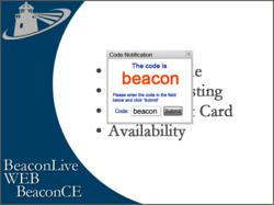 BeaconCE is a comprehensive delivery tool for administering CE for their customers