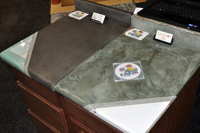 New Concrete Countertop Resurfacing System Available For Renovation Enthusiasts