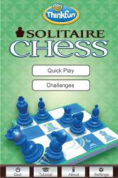 ThinkFun's Award Winning 'Solitaire Chess' Mobile App Now Available for Android