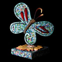 Friends of Wings butterfly designed because of a donation from Midwest Mortgage Capital