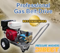 Top  Professional Gas Belt-Drive Pressure Washers @ Pressure Washers Direct