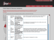 GadgetTrak police report dashboard