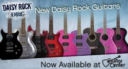 New Daisy Rock DRG guitars at Guitar Center