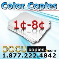 Discount color copies and printing