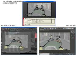 Redboard accurately reproduces scenes in both Maya and 3DS MAX