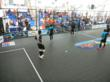 Action on Sport Court for Tiger Street Football in Asia