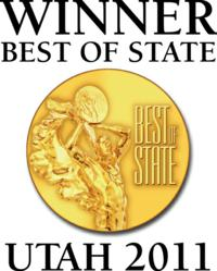 Bullfrog Spas Wins Best of State Award!