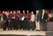 Boeing's team from Long Beach, Calif. accepting their Silver ASQ International Team Excellence Award.