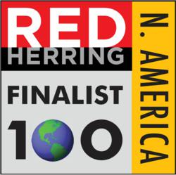 Red Herring 100 Finalist Logo