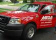Look for a red MEGA truck in your neighborhood.