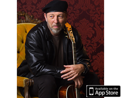 Richard Thompson's lesson is available exclusively through the On the Music path iPad app on the App Store