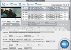 WinX DVD Ripper Platinum Screen Shot