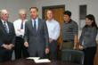 Governor Peter Shumlin and Vermont Captive industry supporters of new captive legislation