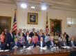 InvestMaryland supporters join Governor O'Malley for bill signing in Annapolis