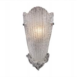 Hand made art glass wall sconce by ELK Lighting