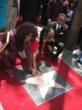 Chaka Khan Receiving the 2,440th Star on the Hollywood Walk of Fame