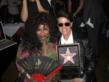 Peter Lamas and Chaka Khan - Hollywood Walk of Fame Ceremony on May 19, 2011