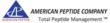 American Peptide Company, Inc.