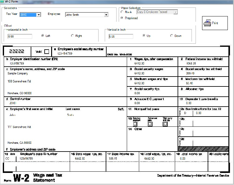 In House Payroll System: Calculating Federal, State And Local