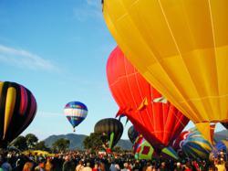 U.S. National Parks & the Albuquerque Balloon Festival