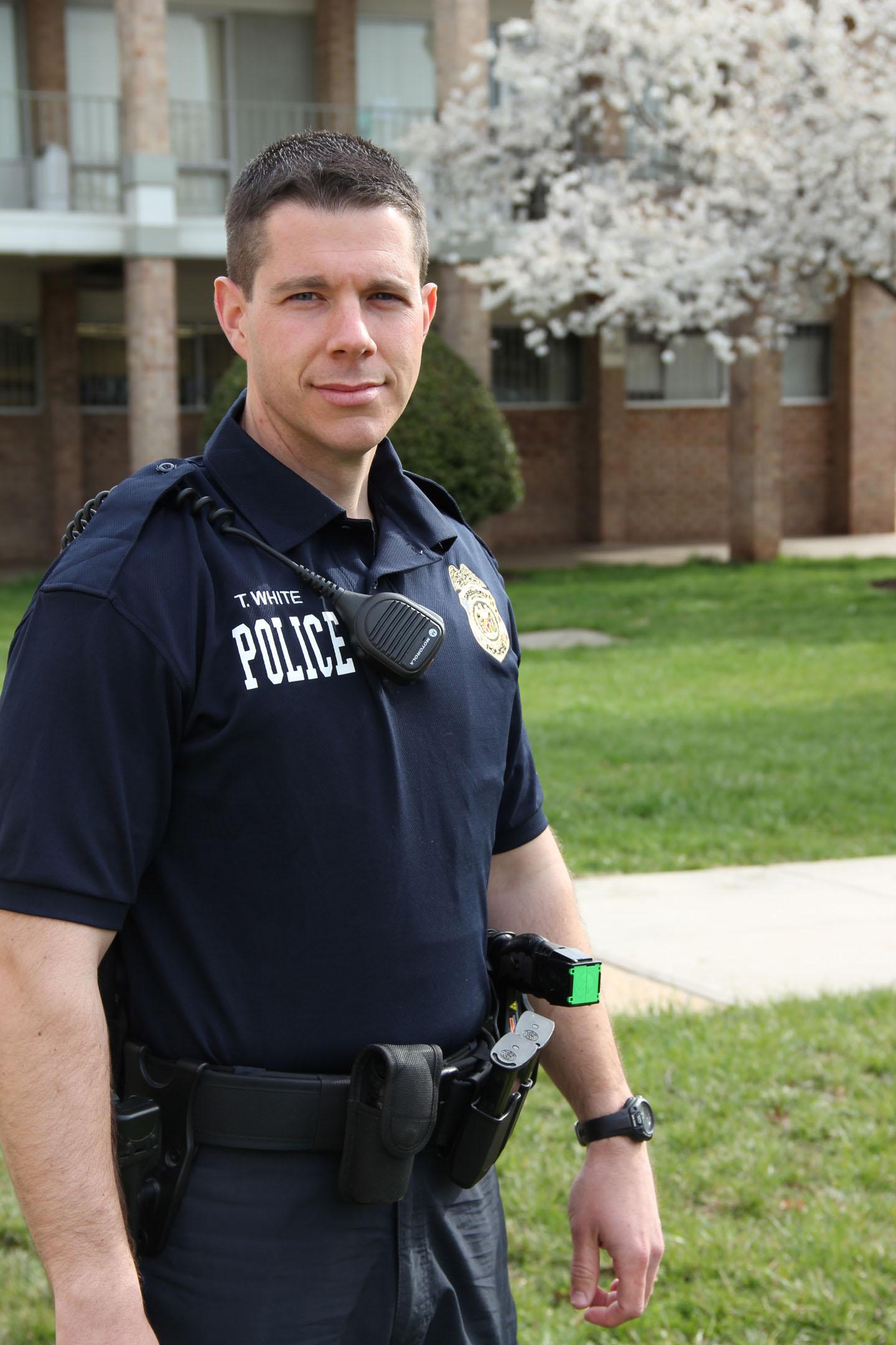 Greenbelt Maryland Police White Greenbelt Police