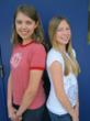 Montross Middle School's Taylor Janovicz (left) and Anna Sisson (right) were two of six winners in the national Natural High Contest