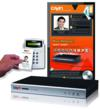 SMP-WEBDUO digital signage player and RFID access control system