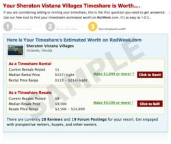Free RedWeek com Tool Takes the Guesswork Out Of Timeshare Pricing