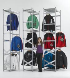 Garment Hanging Systems from Action Storage