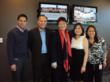 """ABS CBN International executives join Tina Monzon-Palma at the Redwood City fund raiser for Bantay Bata."""