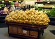 Leading Edge Design Group's Work at the City Market/Onion River Co-op. Bananas Lit with New LED Lighting.