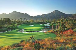 Hole 14 at the Indian Wells Golf Resort