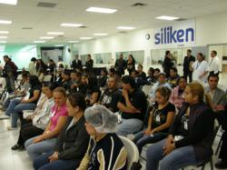 Siliken opens its fifth manufacturing plant in Tijuana Mexico.