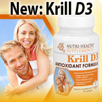 New: Buy Krill D3 from Nutri-Health Supplements Now!