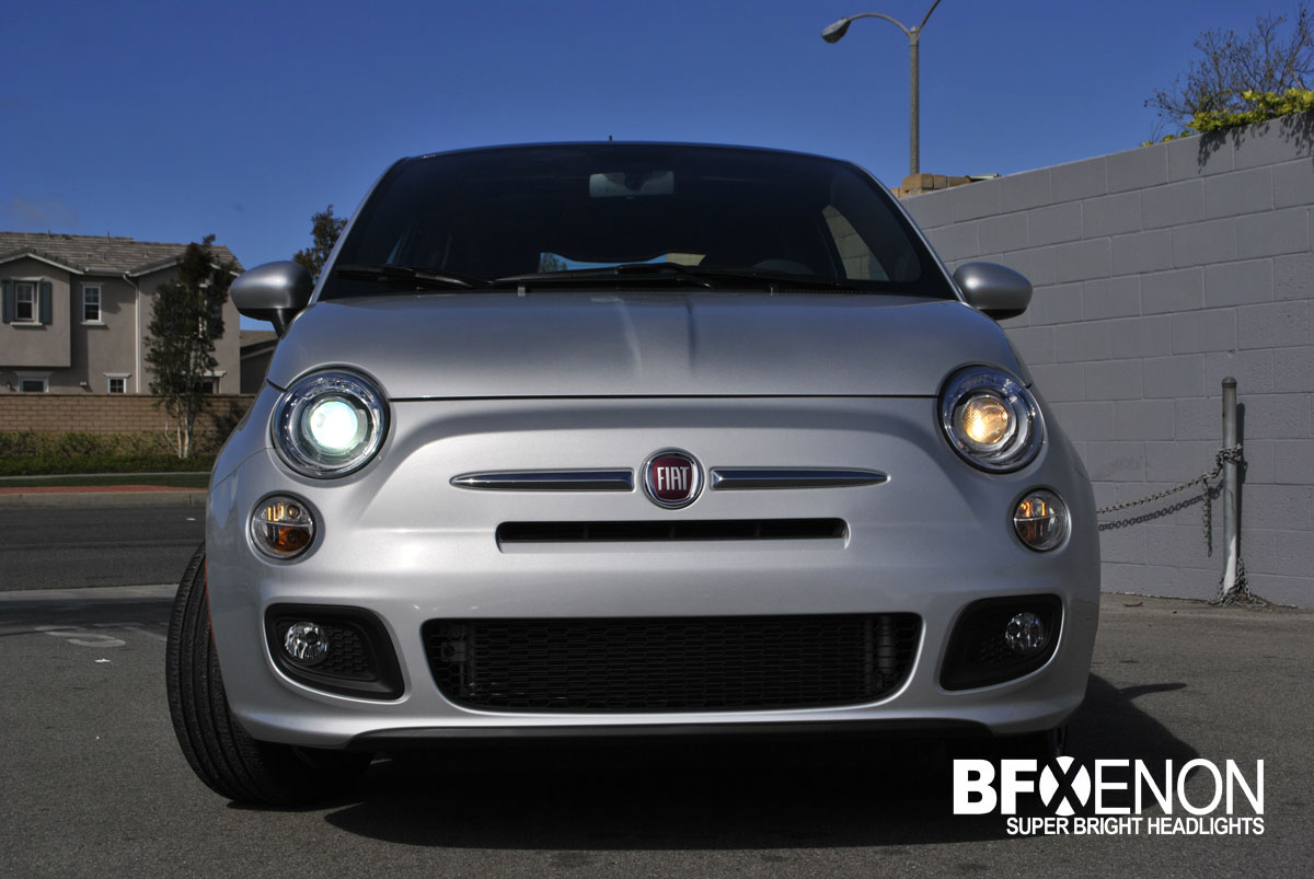 to Release the First HID Xenon Headlight Kit for the Fiat 500 USA