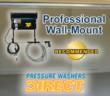 Top Professional Wall Mount Pressure Washers @ Pressure Washers Direct