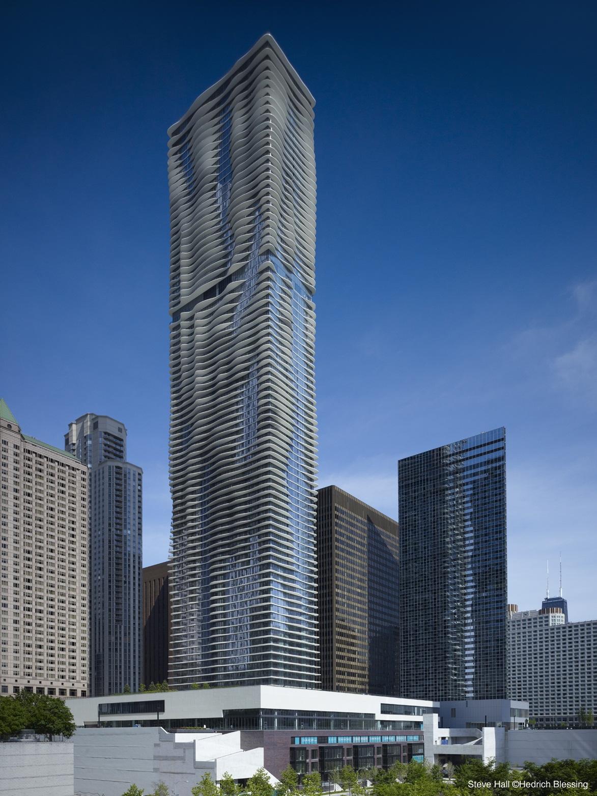 Aqua Skyscraper Captures Lakeshore East S 2nd Prix
