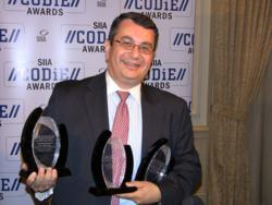 The three 2011 CODDiE traphies won by EfduTone Corporation