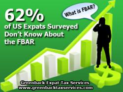 US expats unaware of their FBAR (Foreign Bank Account Reporting) requirements. Less than a month before US expat taxes are due (June 15) , and 5 weeks until the FBAR deadline of June 30th
