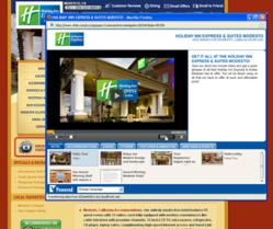 Holiday Inn Express & Suites Modesto - VPowered Multi-Media Player on hiesmodesto.com