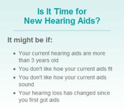 Helpful tips to determine if you need new hearing aids.