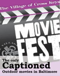 movie festival with open captions accessible to the Deaf community